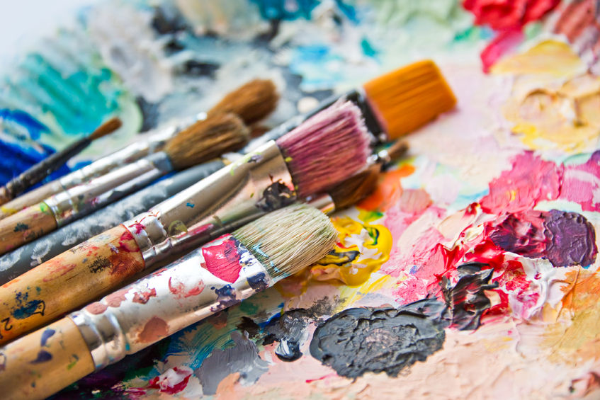 channel your inner artist at canvas and grapes in Morristown