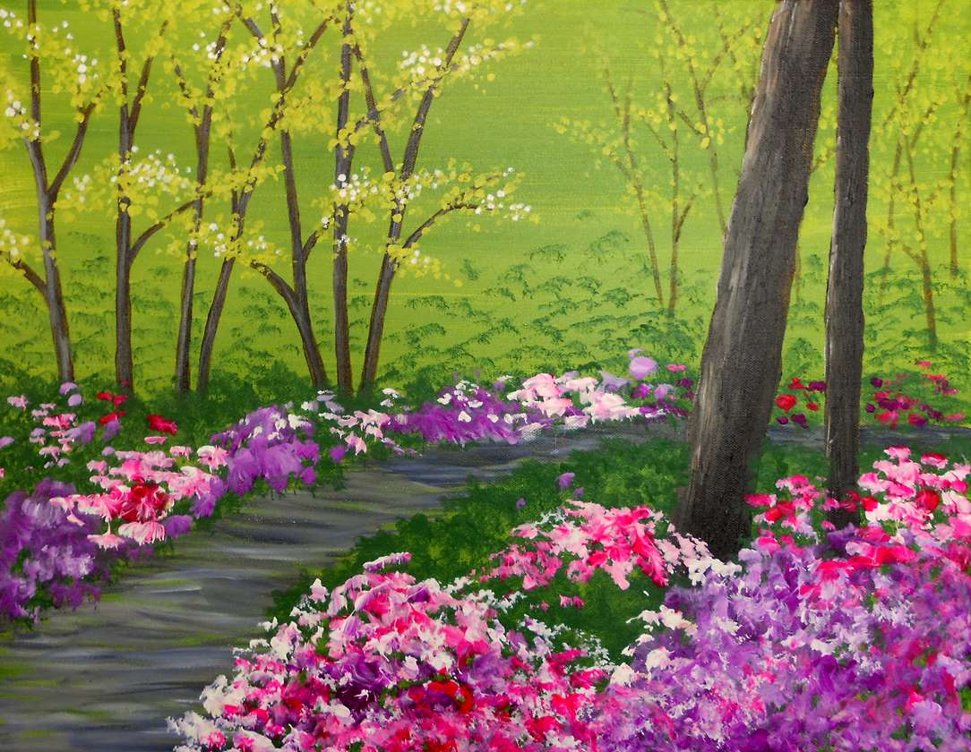 great bridal shower paint and sip art classes in Morristown NJ
