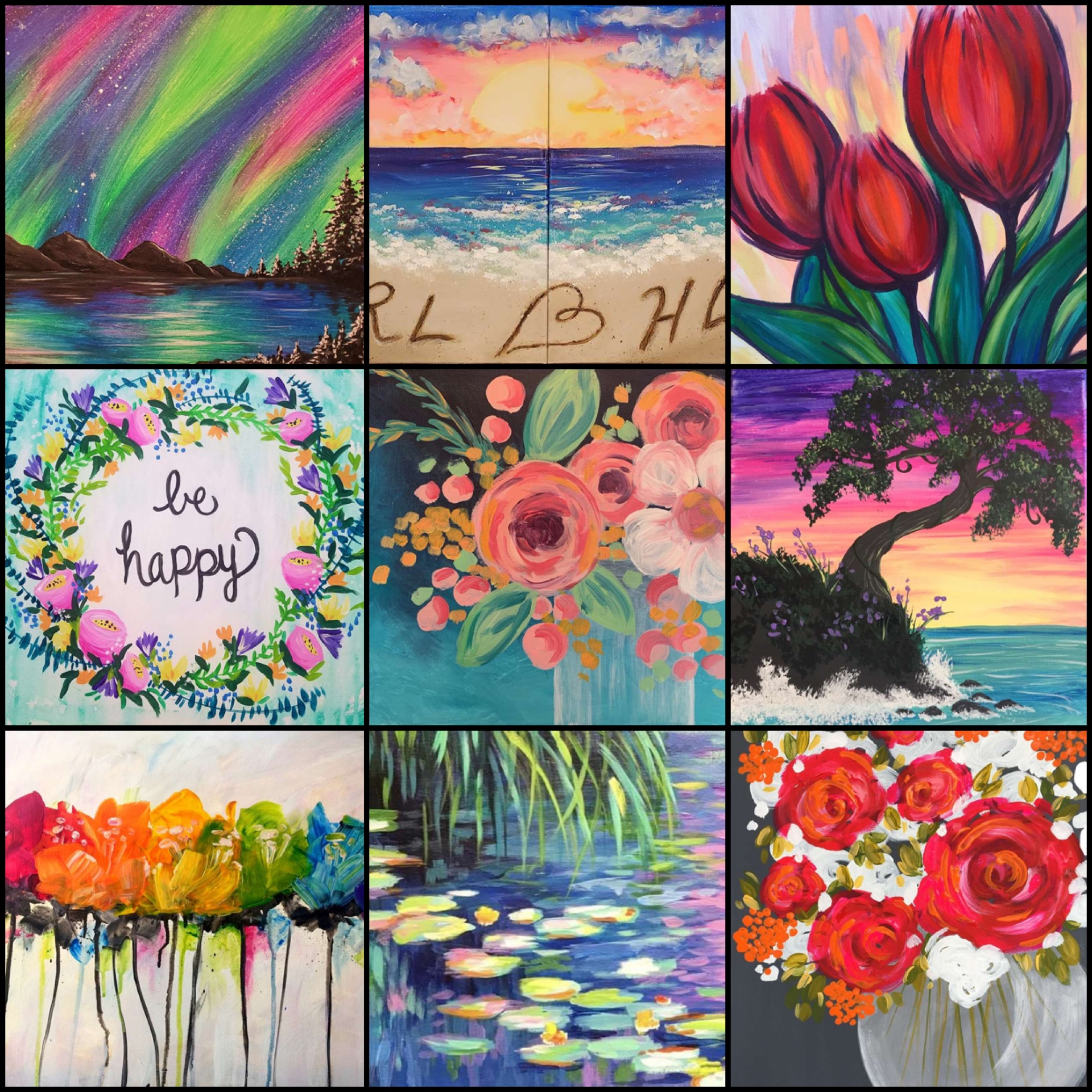 Colorful Artwork To Liven Up Your Home During The Grey Winter Days