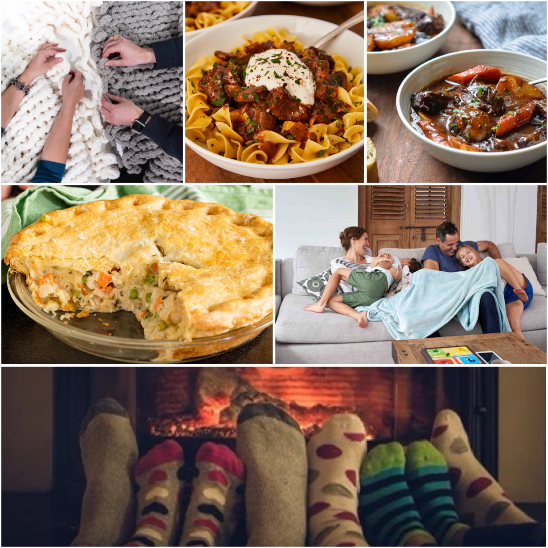 Warm Meals & Creative Pastimes For The Cold Weather