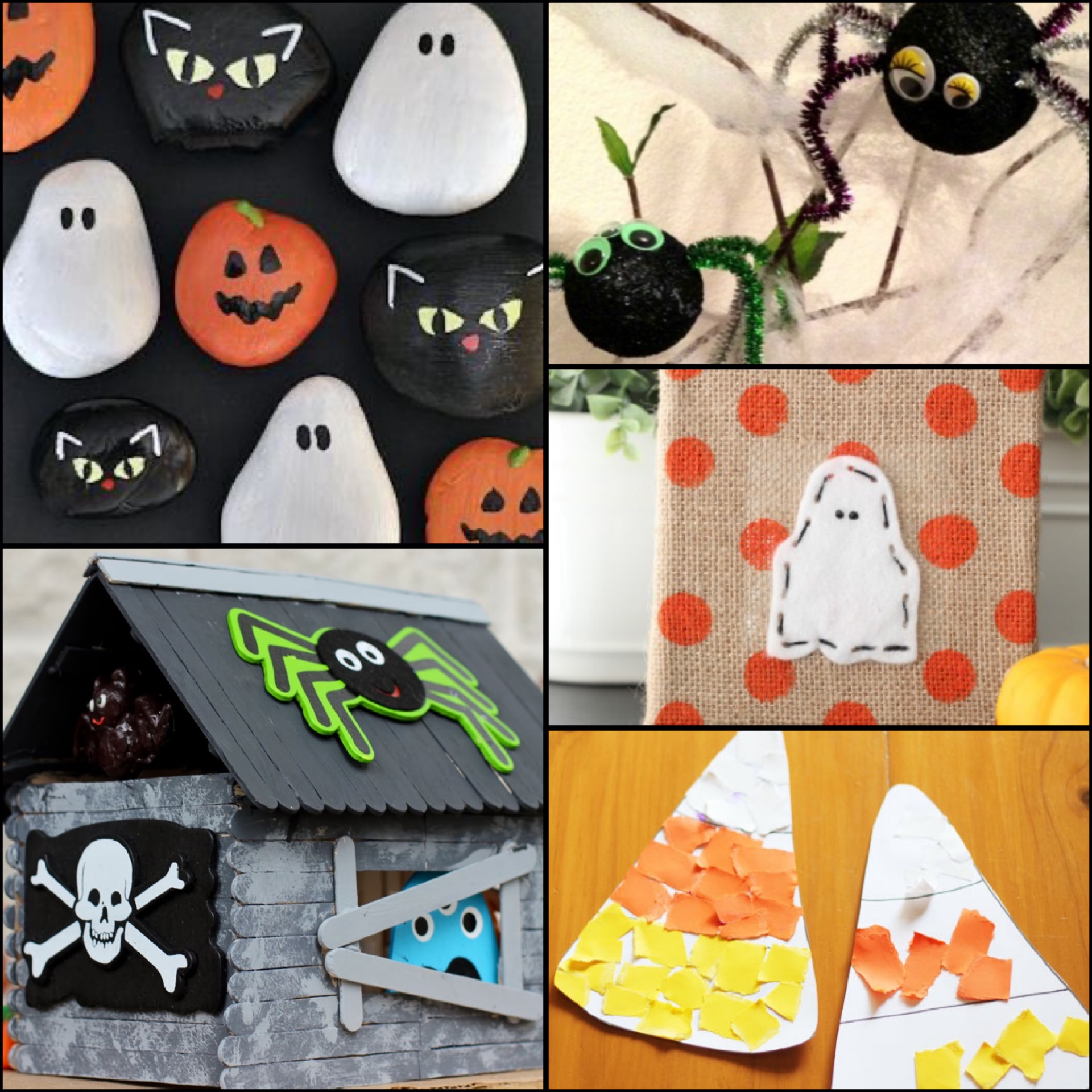 Halloween Crafts The Kids Will Love!