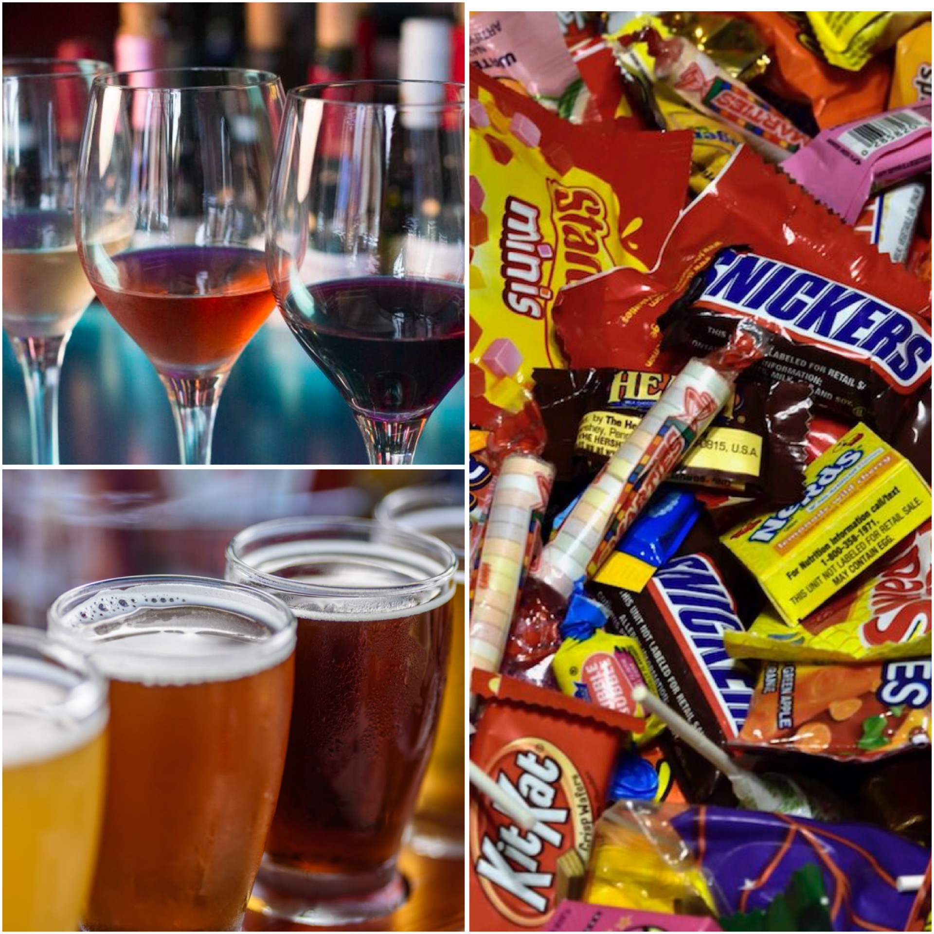 The Best Wine & Beer To Pair With Halloween Candy