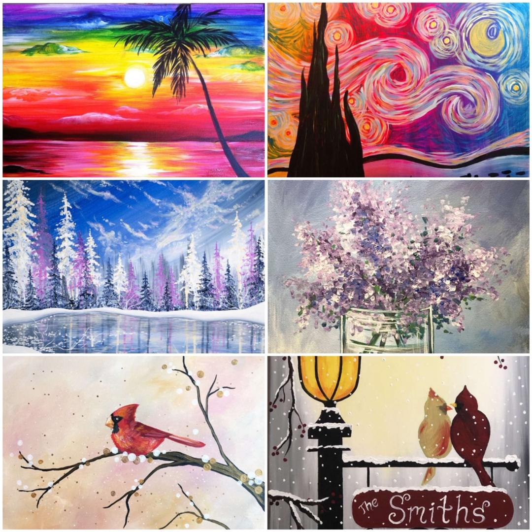 Are You Looking For Some Artwork To Match Your Home's Color Scheme? We've Got You Covered!