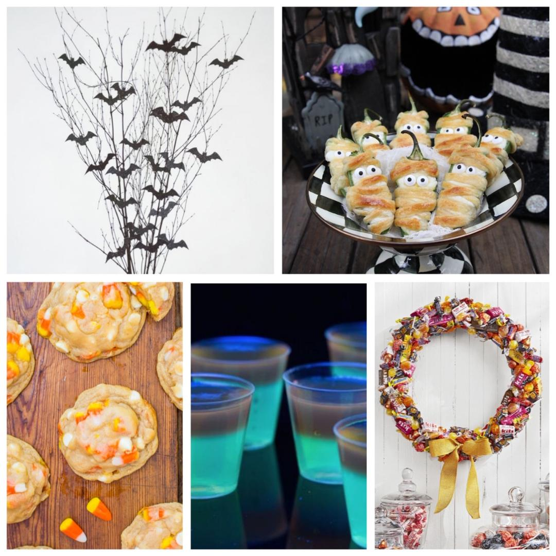 diyhalloweenpartyideas halloweennapervilleil hallweenpartyfooddecorations paintingandwinehalloween