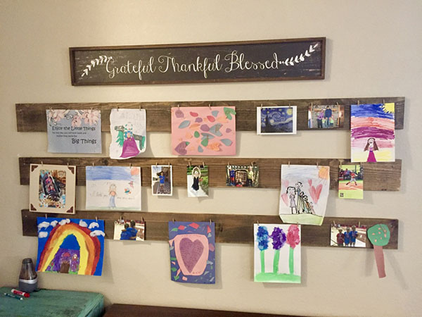 What Are Some Interesting Ways To Display Kids' Artwork?