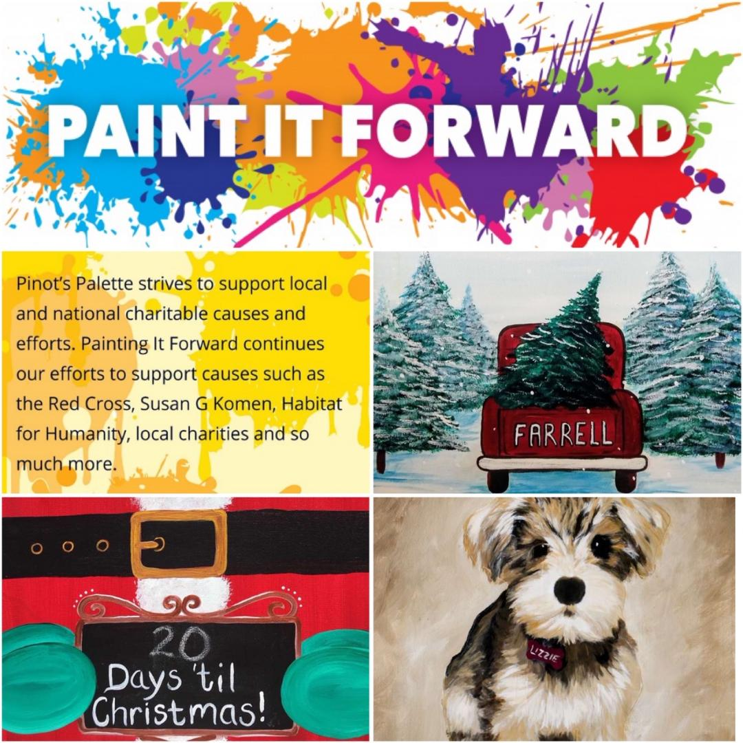 Give Back With These Upcoming 'Painting It Forward' Classes!