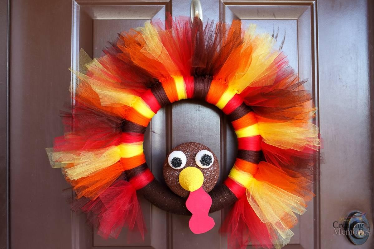 DIY Turkey Wreath That Everyone Will Love!