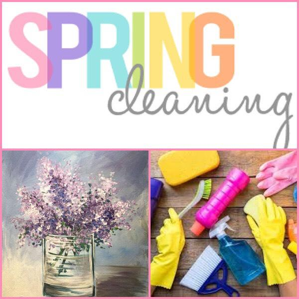 It's Almost Spring! Let's Get Ready To Clean!