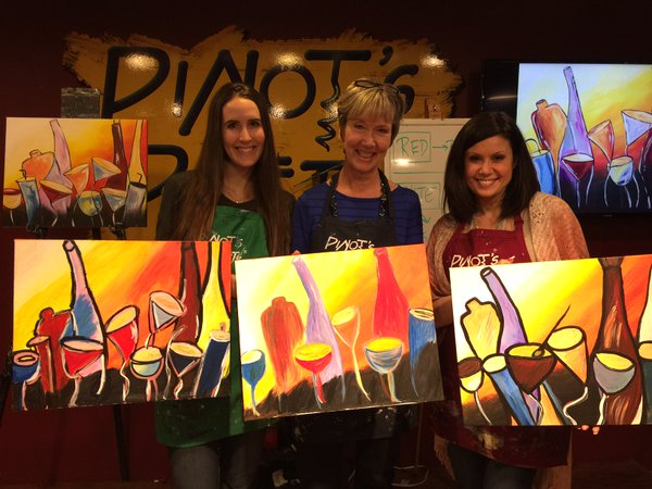 We offer a lot of FUN painting options!