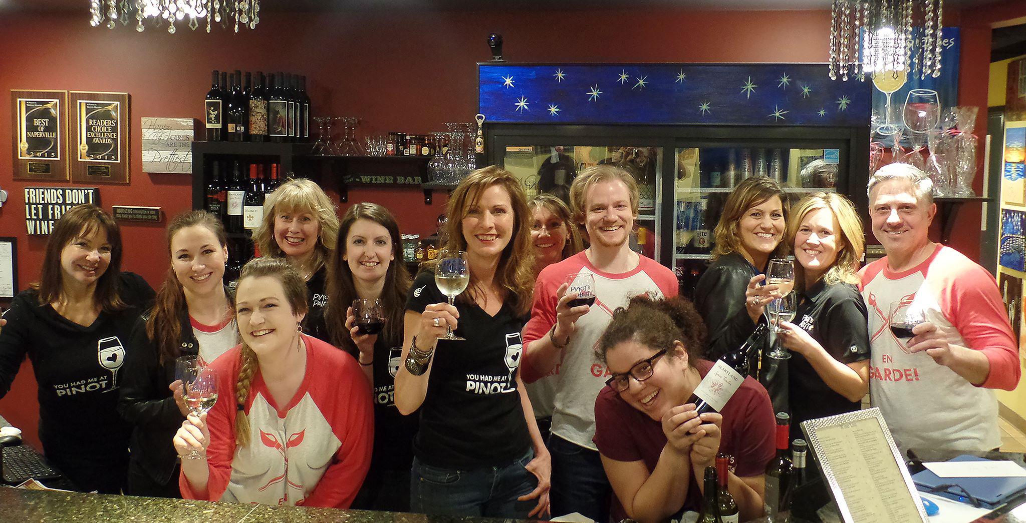 Pinot's Palette Naperville Bar Menu