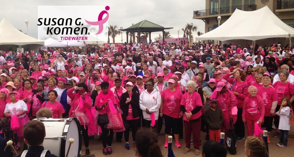 Paint it Forward with Susan G. Komen Tidewater