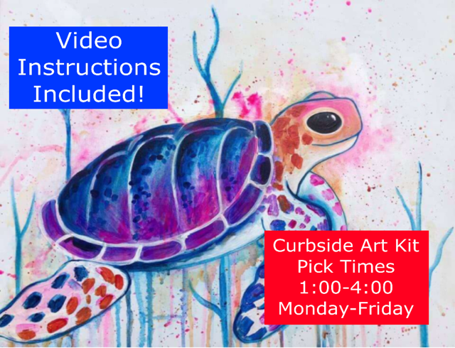 CURBSIDE PICK UP PAINT KIT – MONDAY- FRIDAY 1:00-4:00