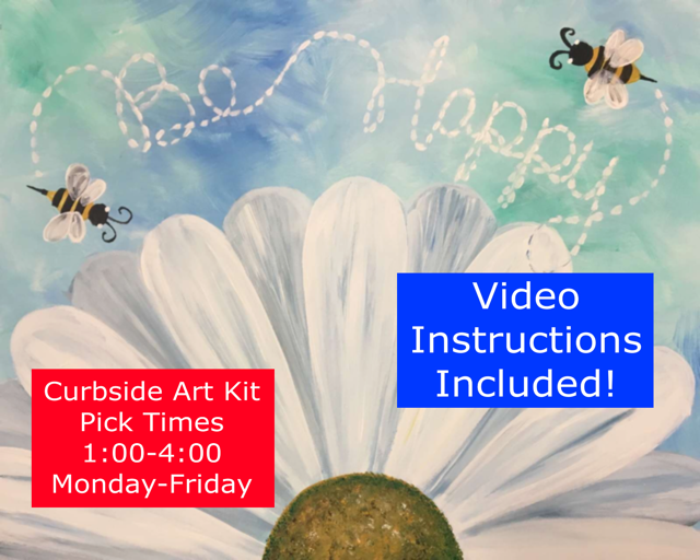 CURBSIDE PICK UP PAINT KIT – MONDAY-FRIDAY 1-4 PM.