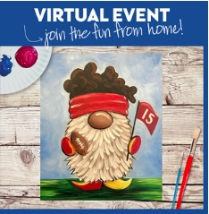VIRTUAL EVENT!  PAINT AT HOME !