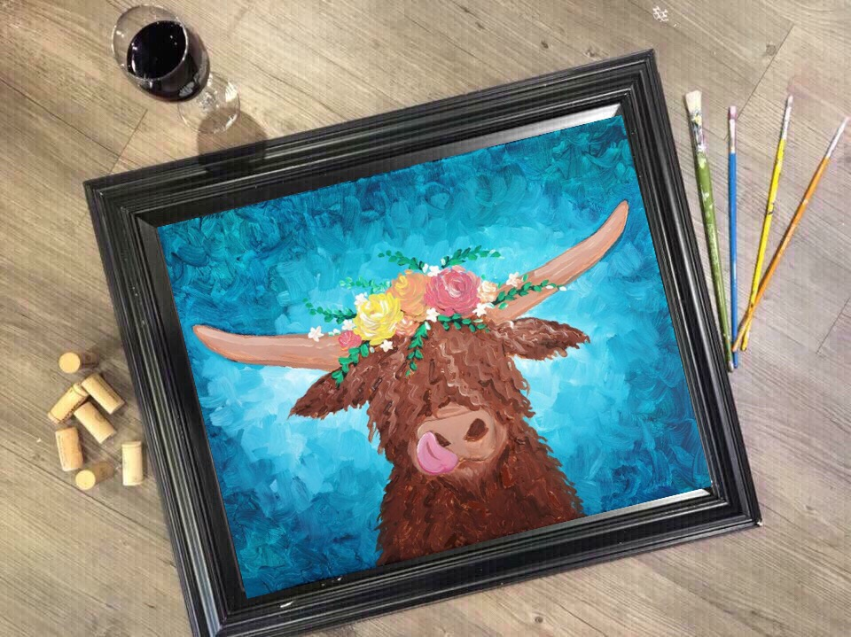 Cute Shaggy Cow
