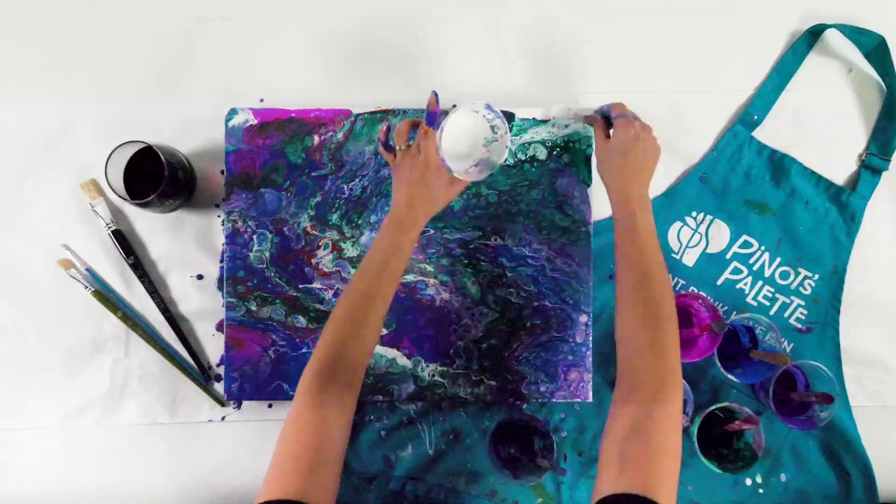 Pour Your Art Out: Flow Marbling