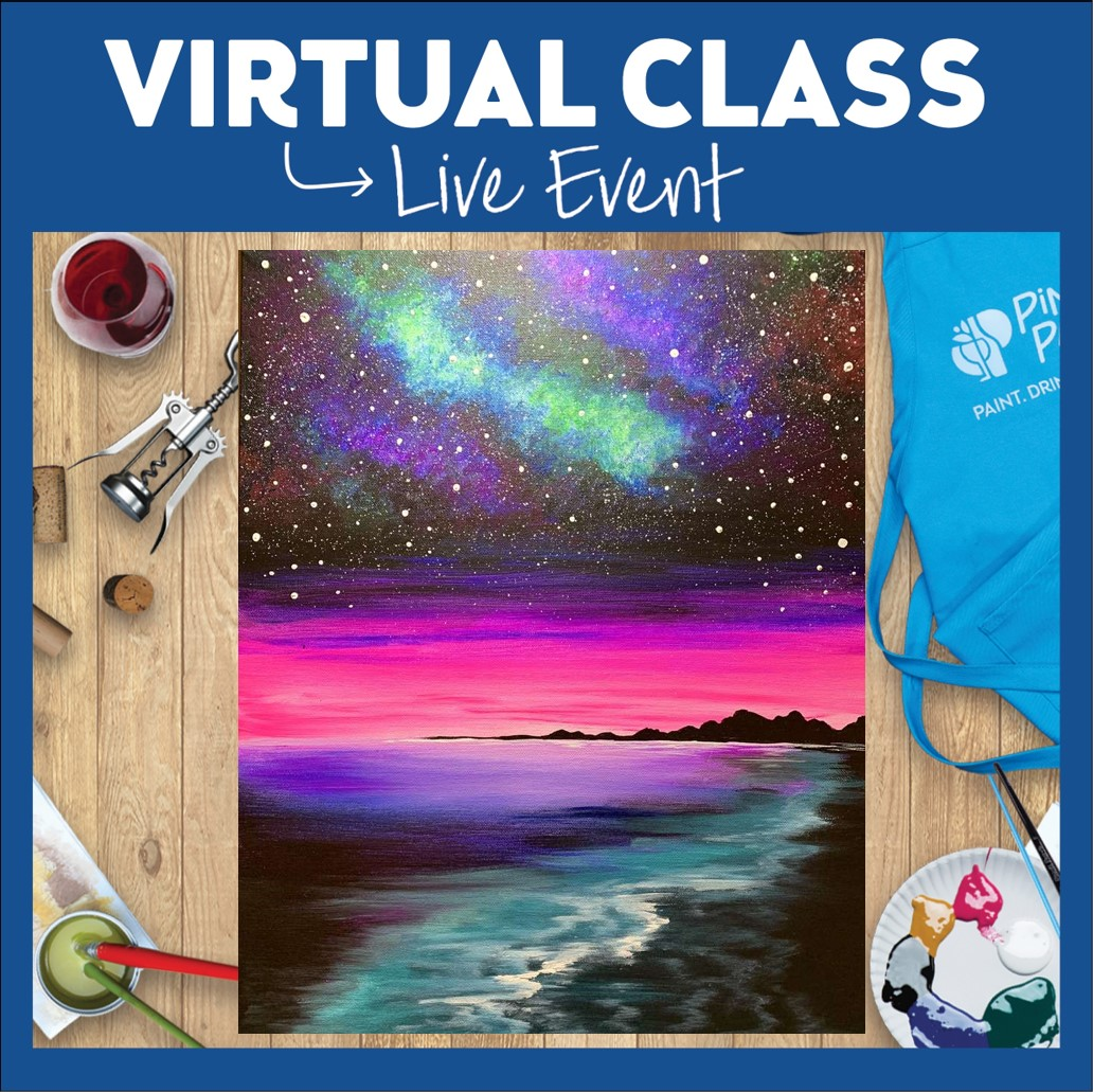 PRE-RECORDED VIRTUAL CLASS. LINK ONLY (NO SUPPLIES)
