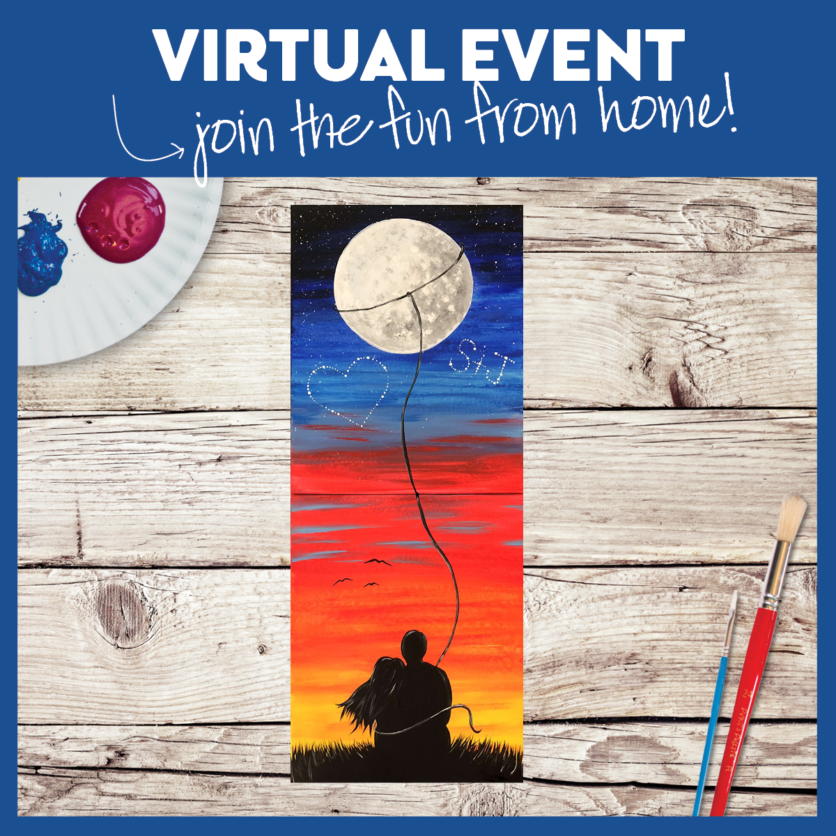 VIRTUAL OPTION LIVE, JOIN THE GROUP FROM HOME. FUNDRAISER FOR THE STEVEN B ROBBINS FOUNDATION