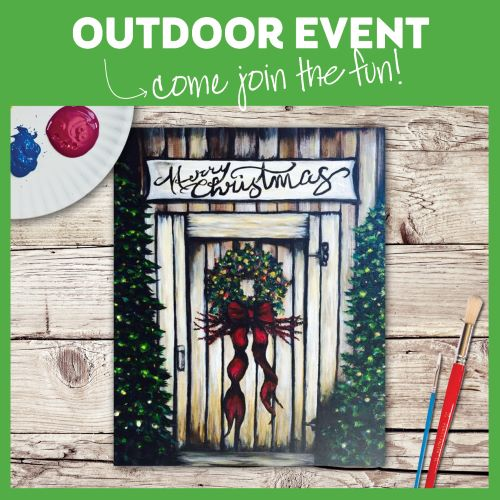 OUTDOOR PATIO EVENT! LIMITED SEATING AVAILABLE