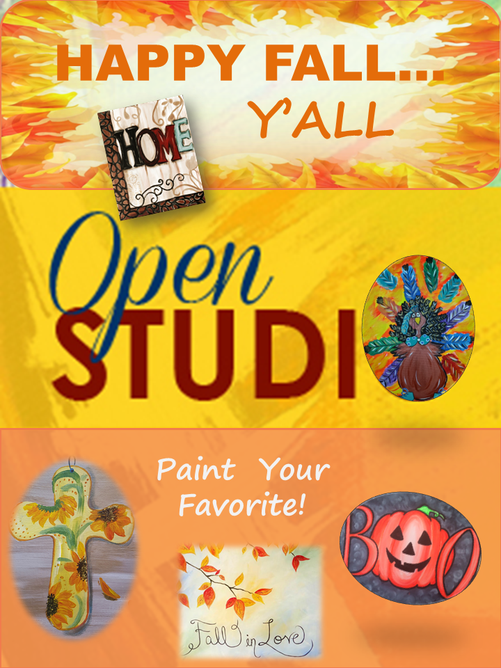 Paint Your Favorite! Reservations Req'd  Minimum 1 Day In Advance