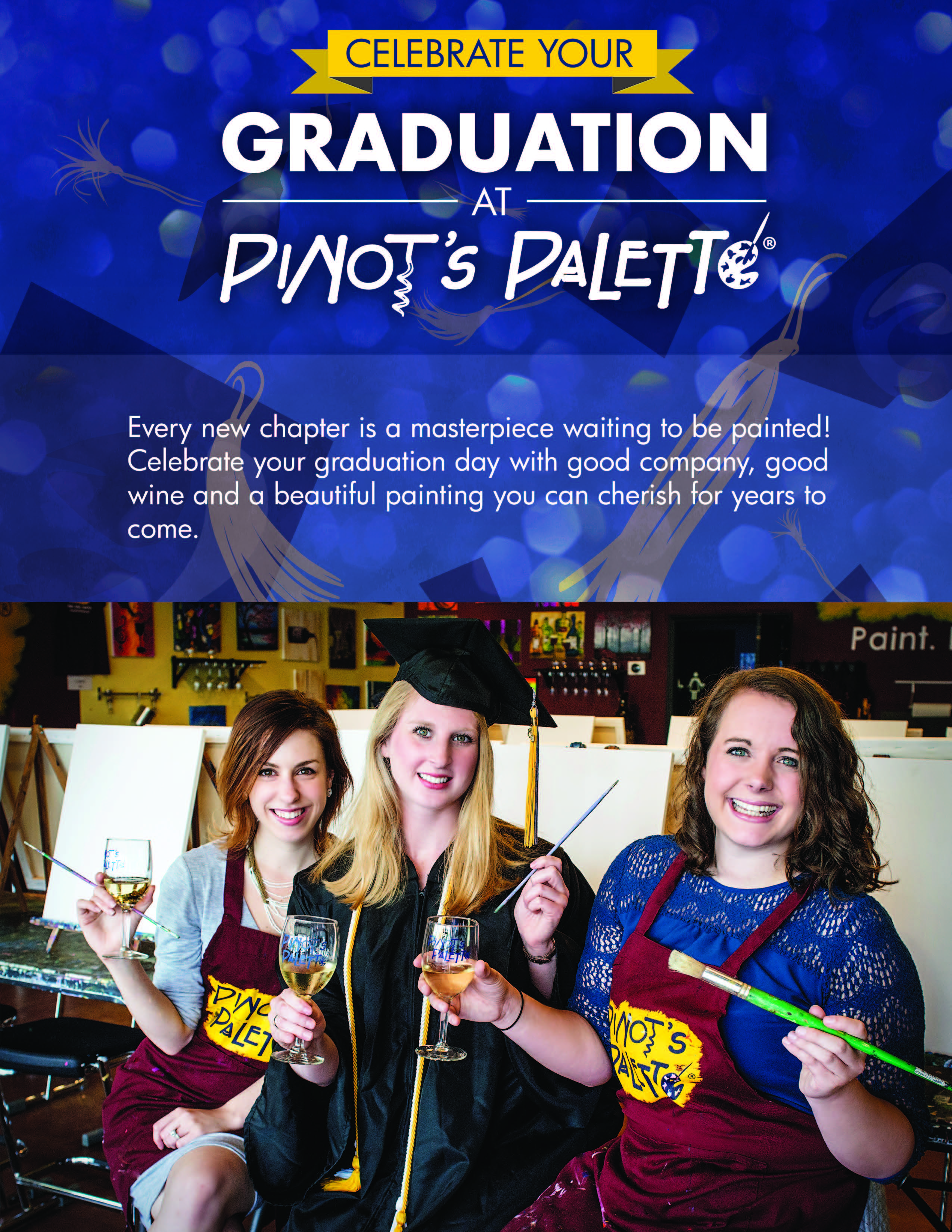 Book Your Graduation Event at Our Studio!