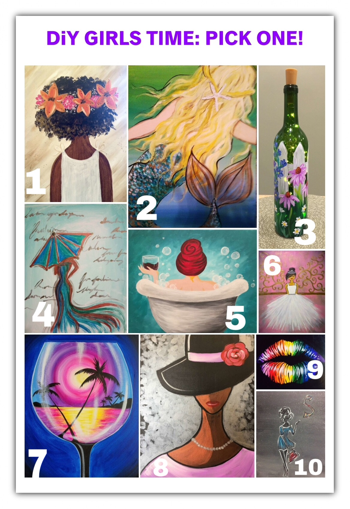 DiY Artful Fun: Pick One!