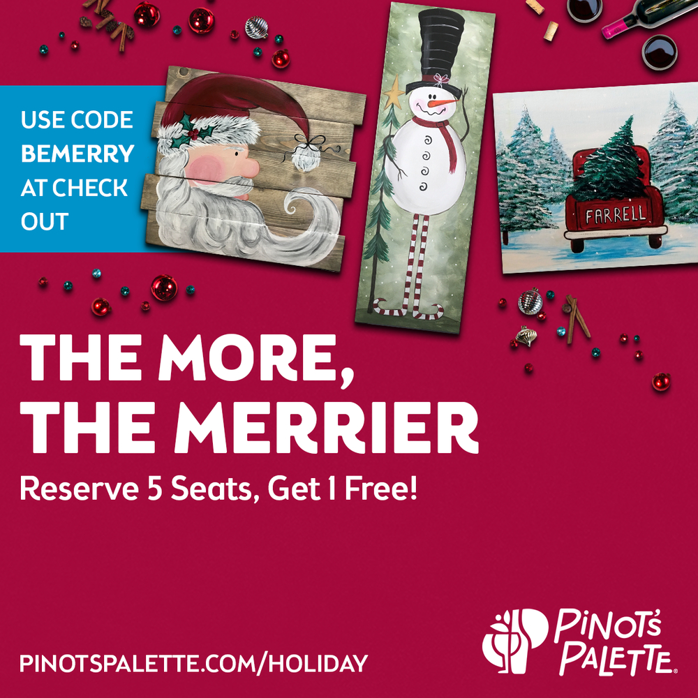 🎁 Holiday Gift Guide: Pinot's Palette Little Rock 🎨