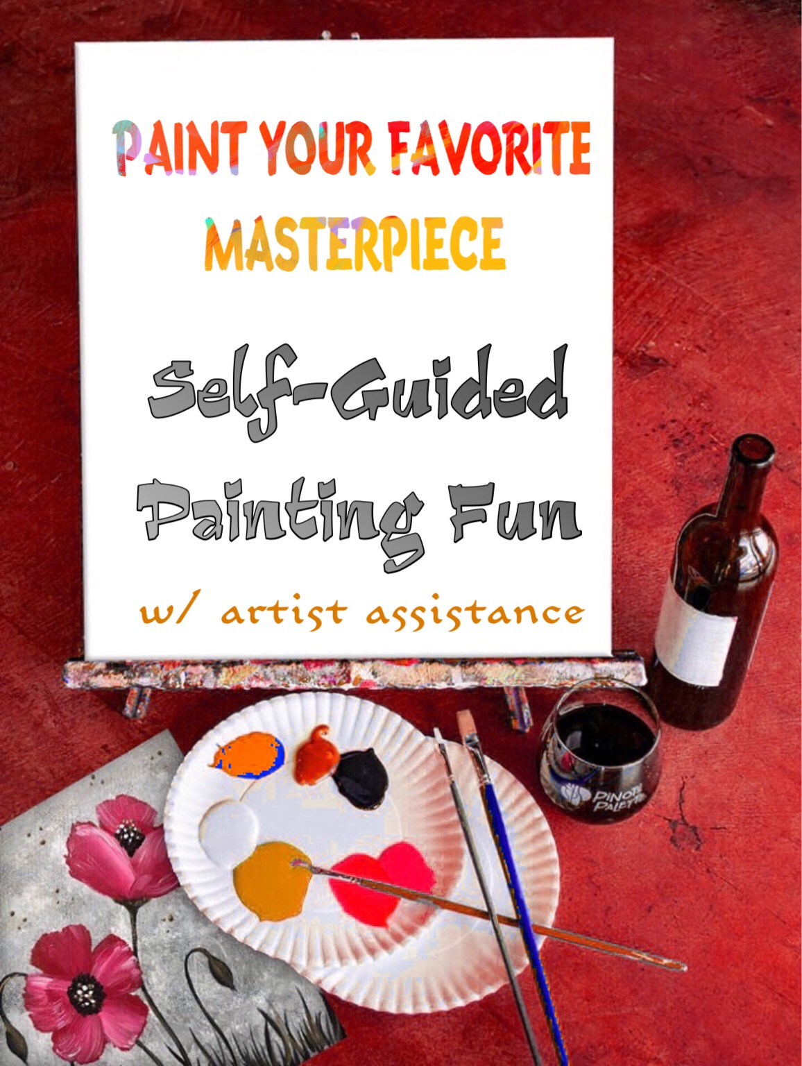 Paint Your Fav! Reservations Req'd