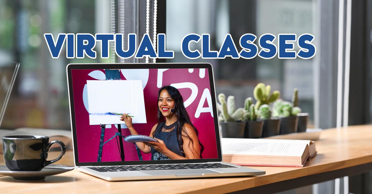 Live Virtual Paint Classes