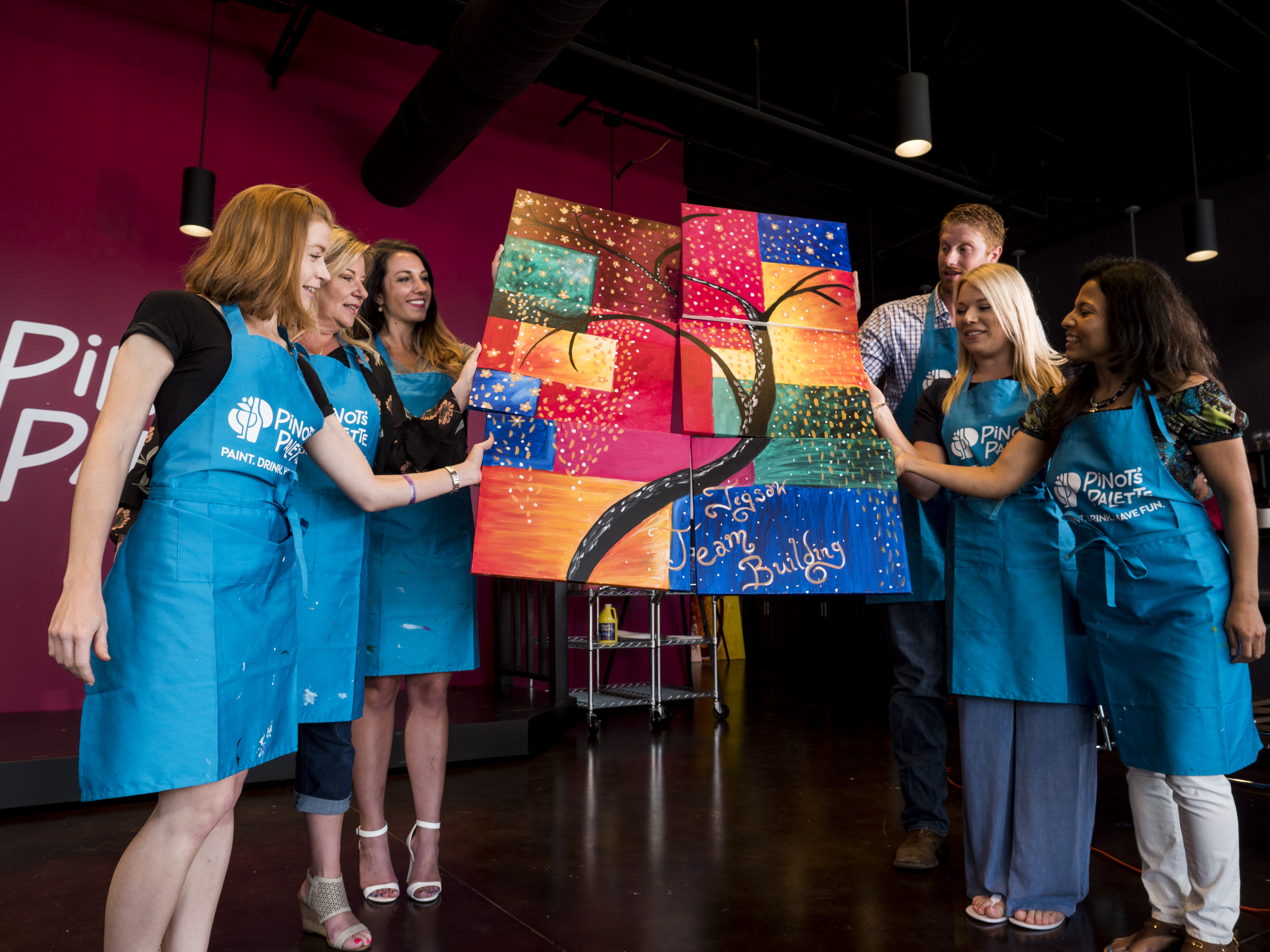 Pinot's Palette - Princeton Named Best Team Building Provider