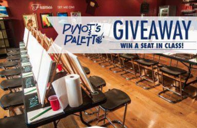 Painting class giveaway