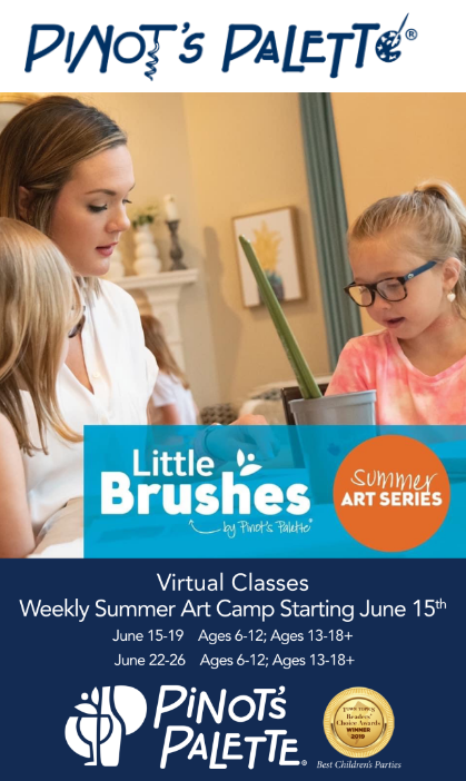 Announcing: Children's Summer Art Camp From Home!