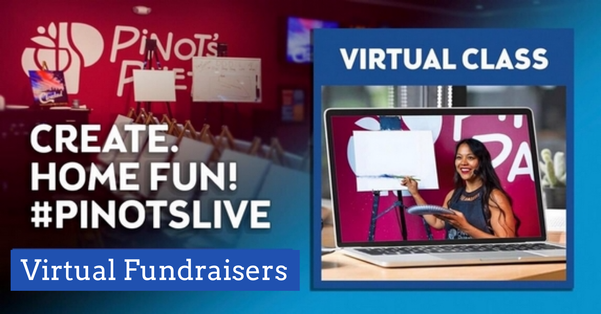 NEW! Virtual Fundraisers!