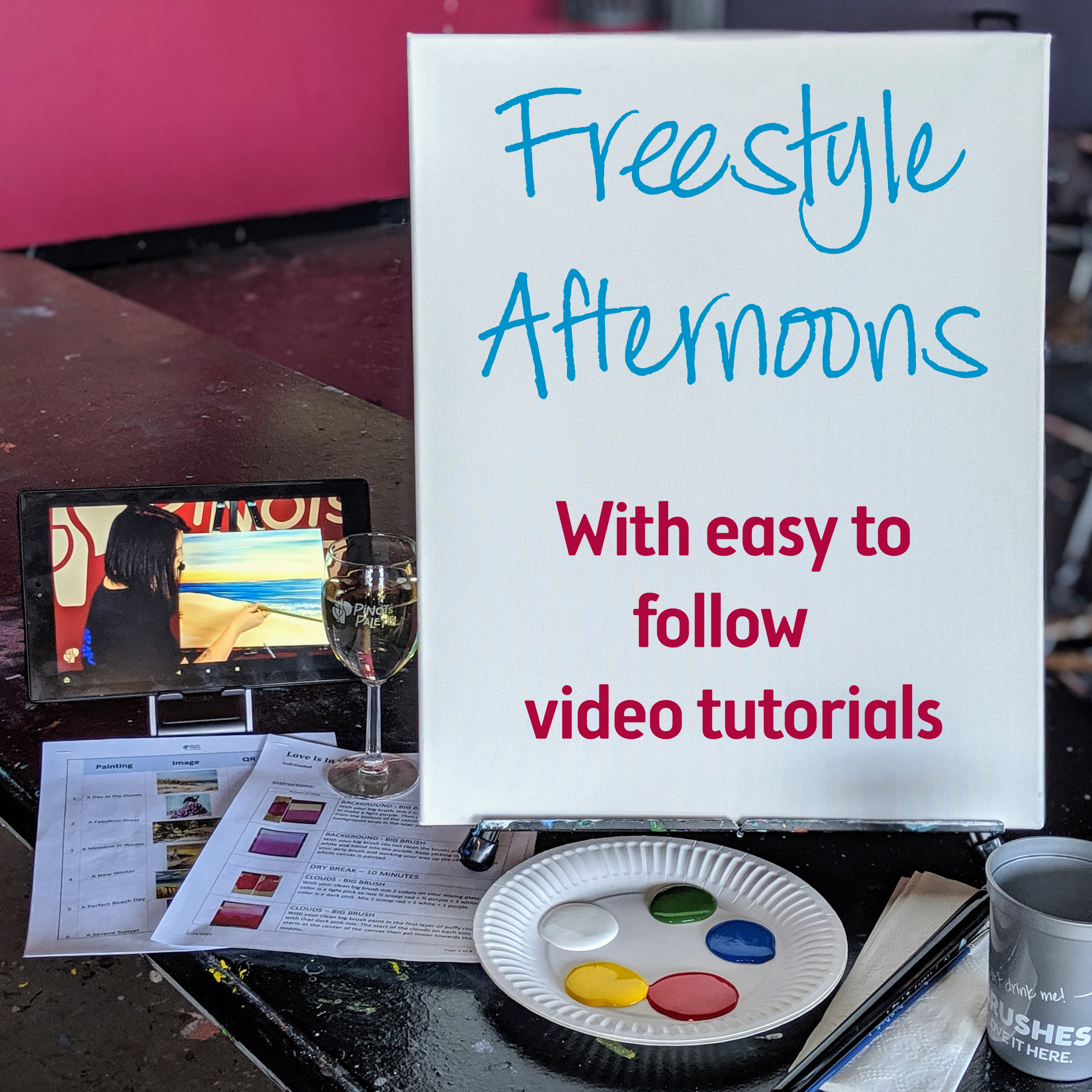 Freestyle Afternoons are back!