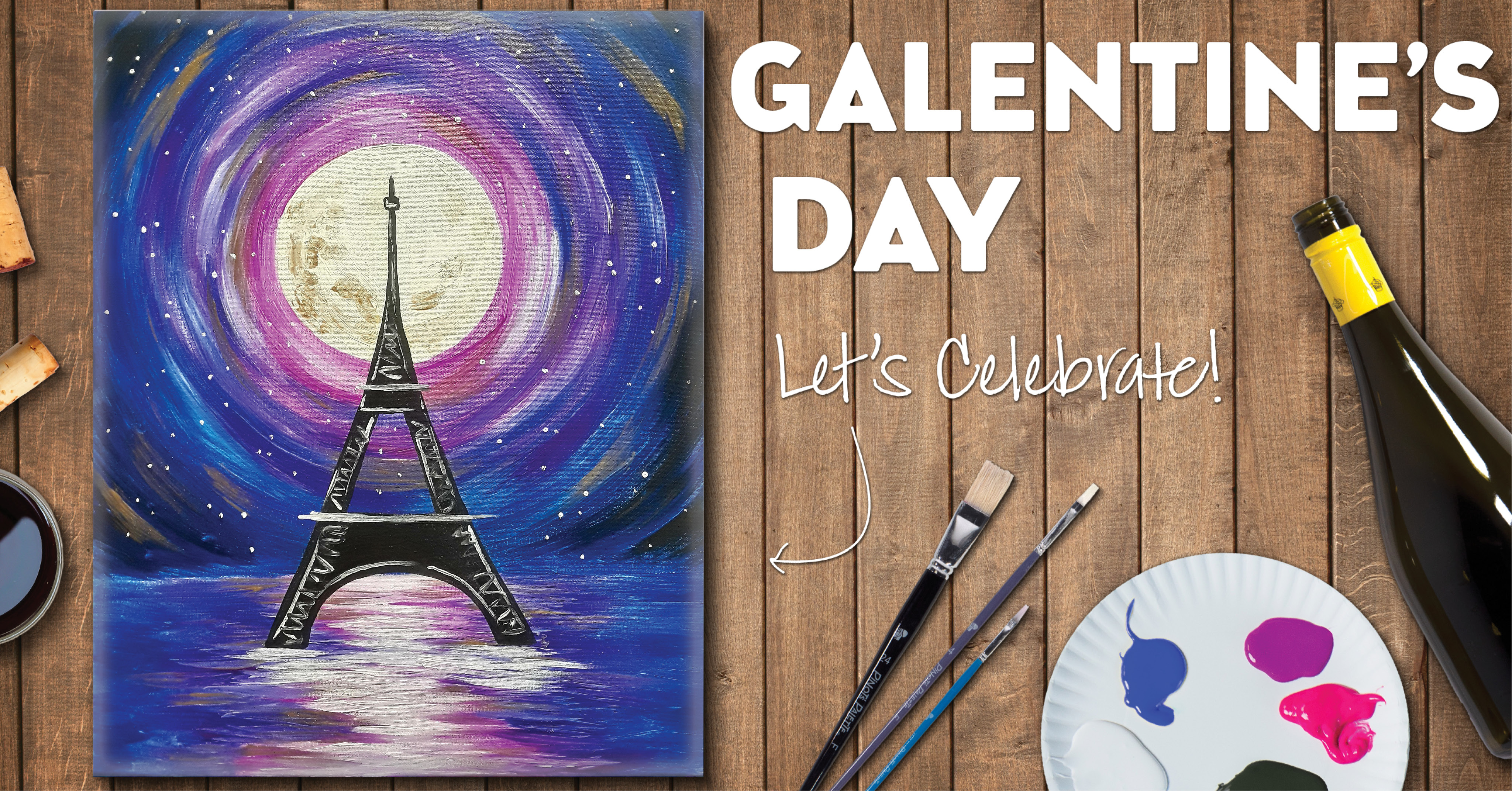 Galentine's Day Celebration  at Pinot's Palette