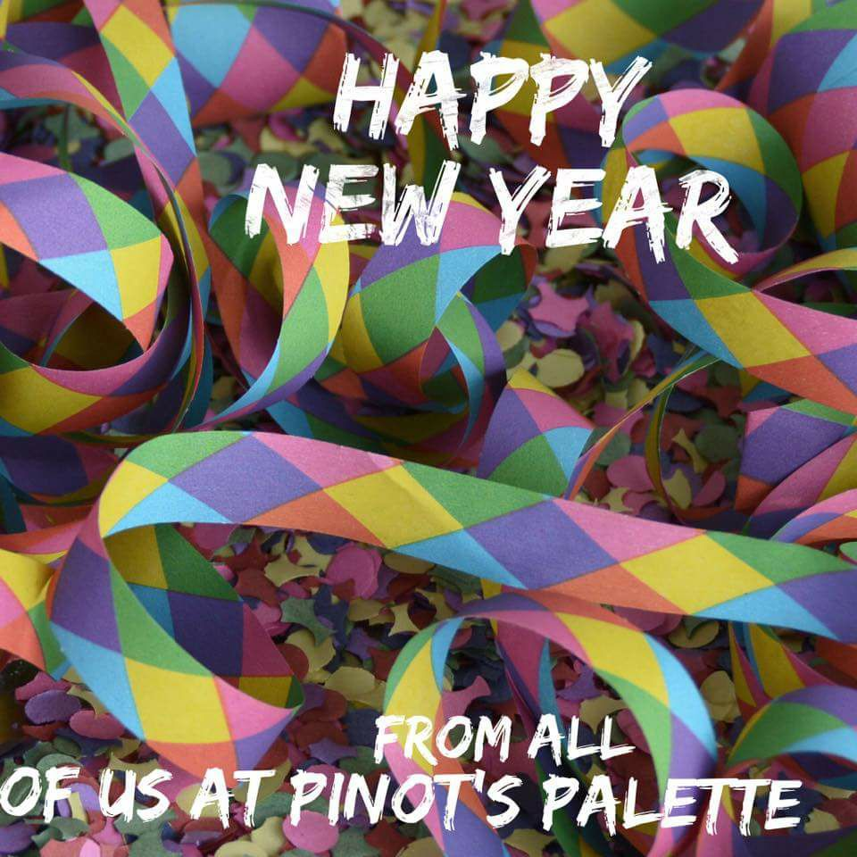 Happy New Year from Pinot's Palette!