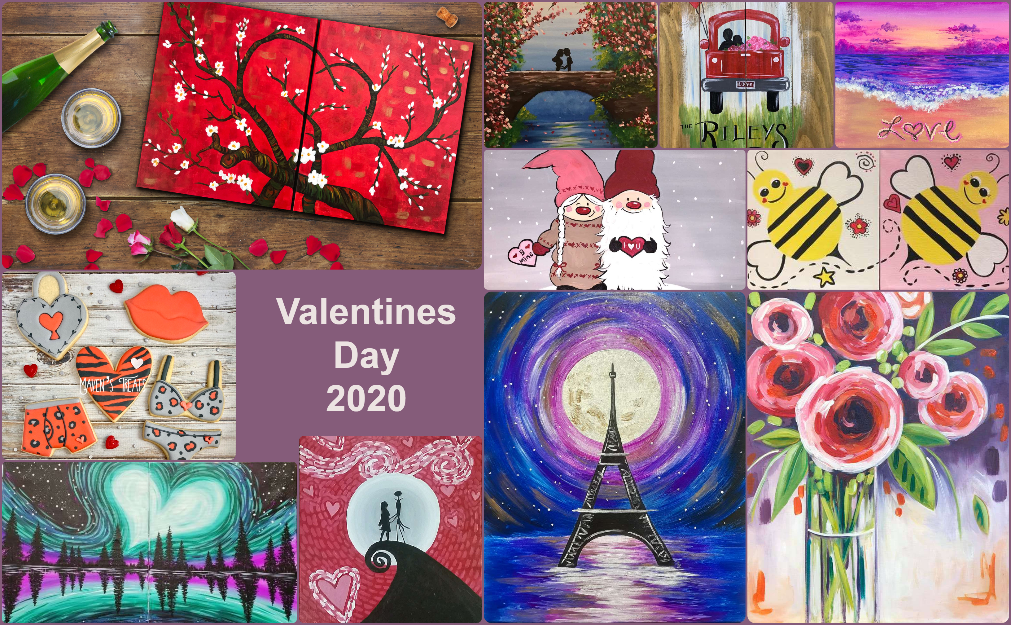 Valentine's Day Events at Pinot's Palette