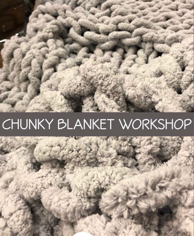 DIY Chunky Throw  Blanket