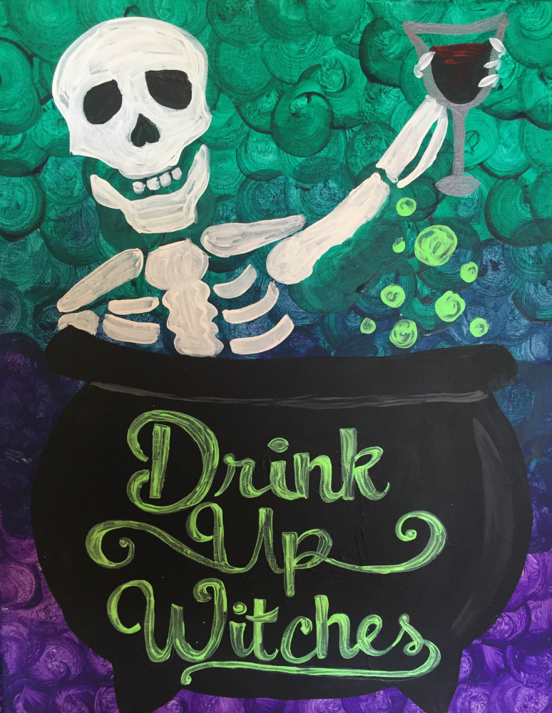 Drink up, Witches!