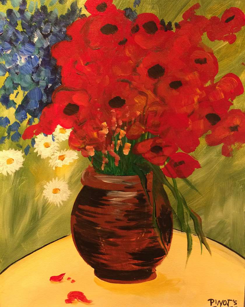 inspirational wine and paint in Westwood NJ