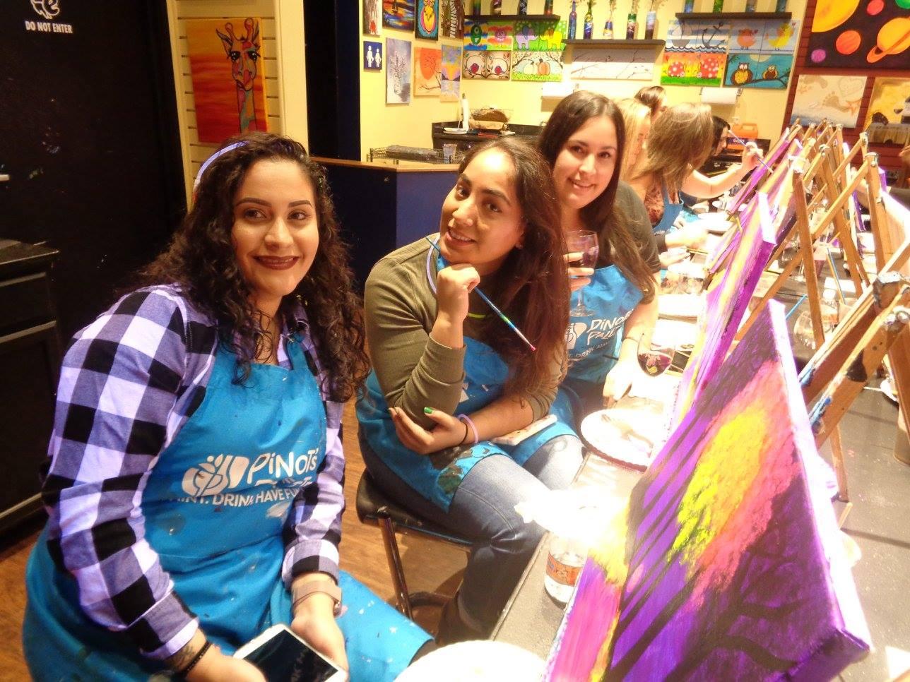paint and sip Westwood NJ art classes