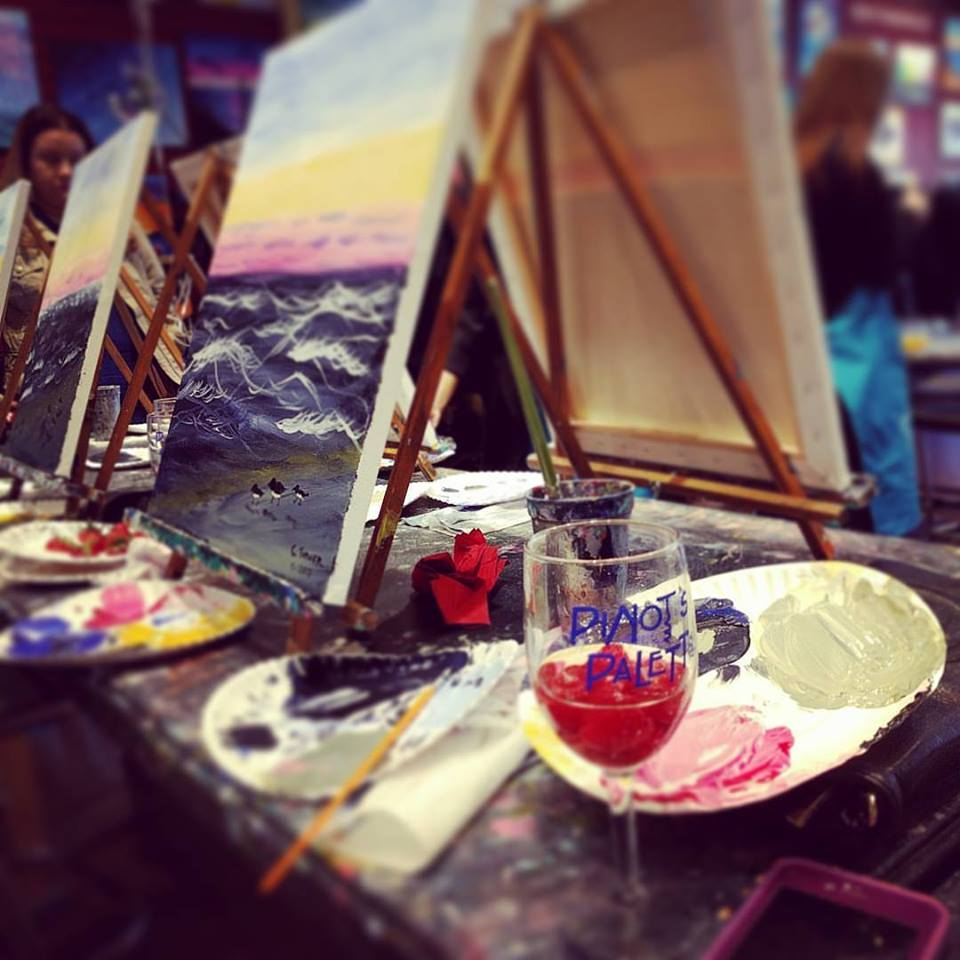 company party paint night in Paramus