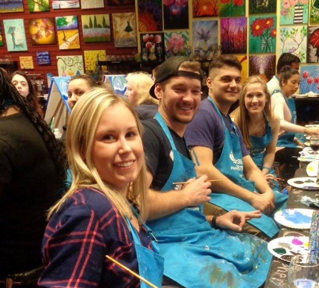 paint and sip Westwood NJ fun art classes