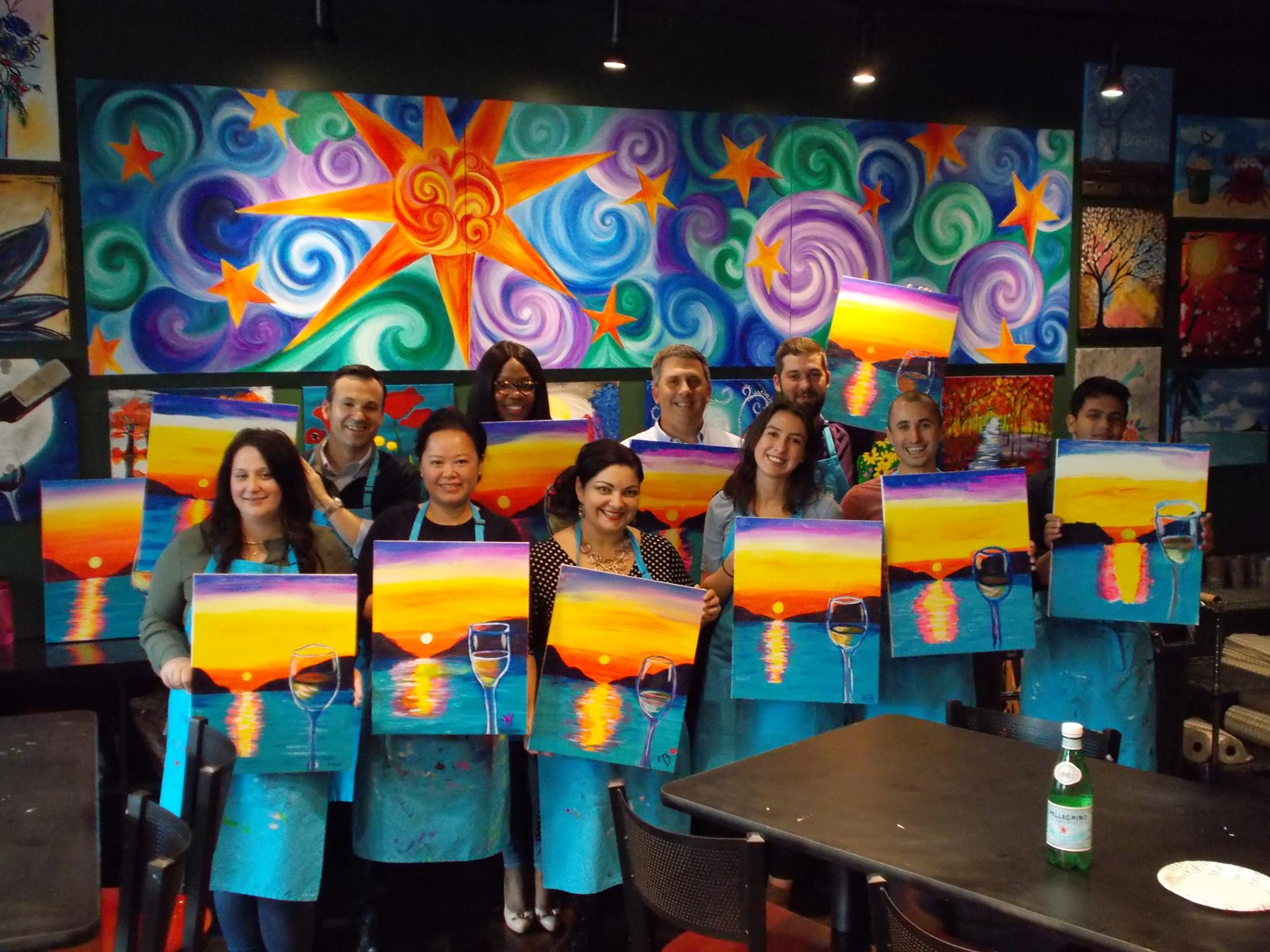 celebrate your birthday with art classes in Ramsey NJ