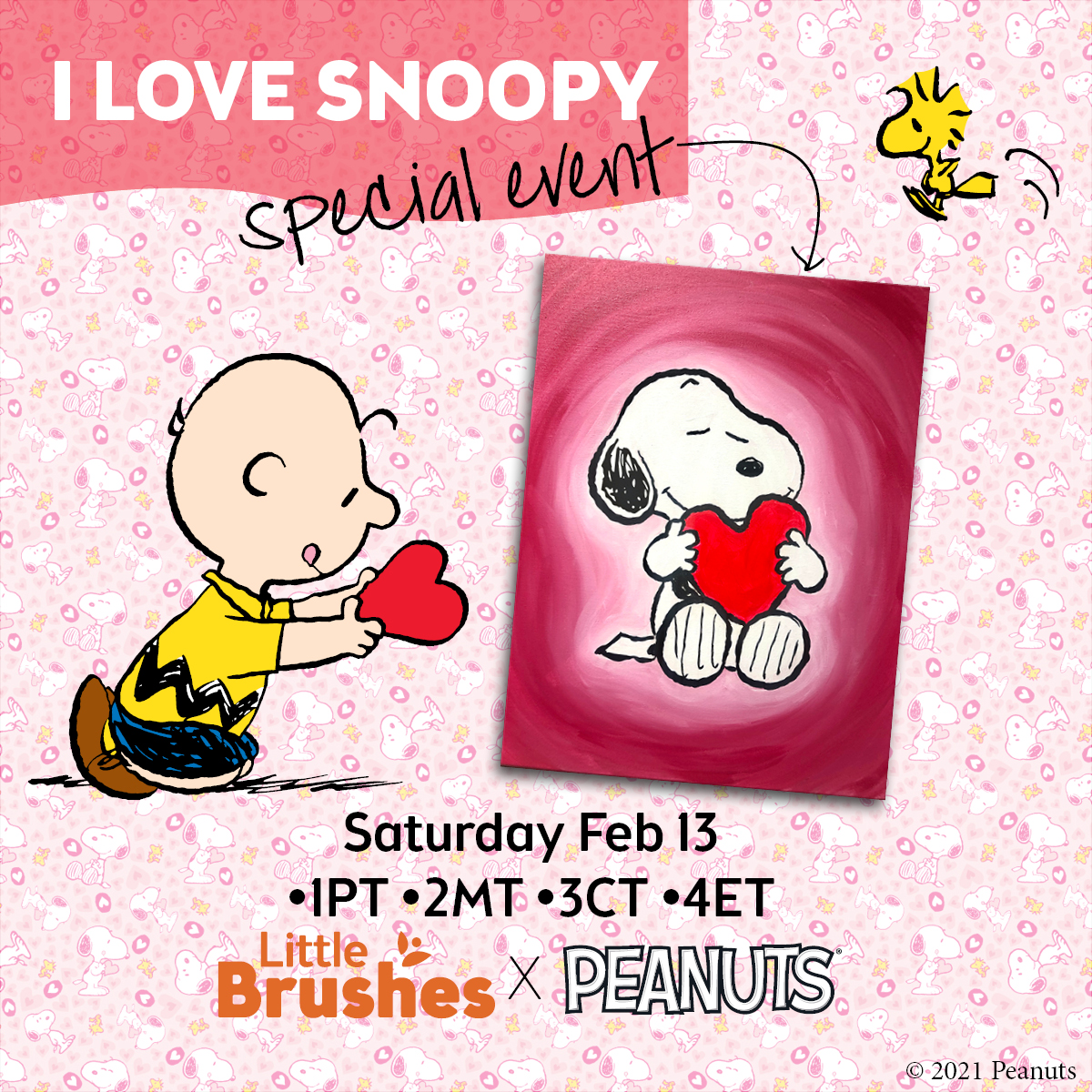 I Love Snoopy! Little Brushes Special Event