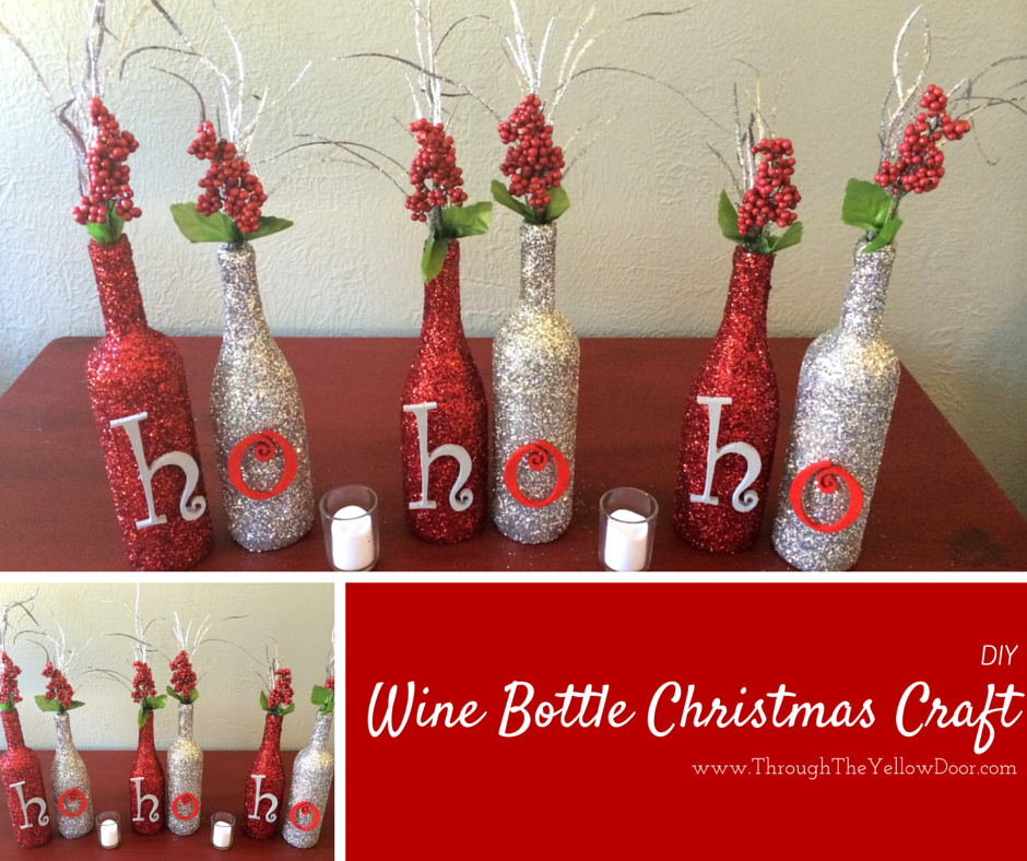 christmas crafts wine edition pinots palette