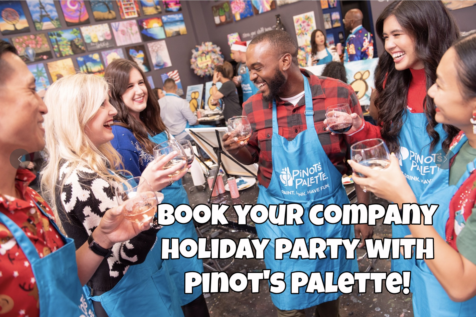 Pinot's Palette for the Holidays!