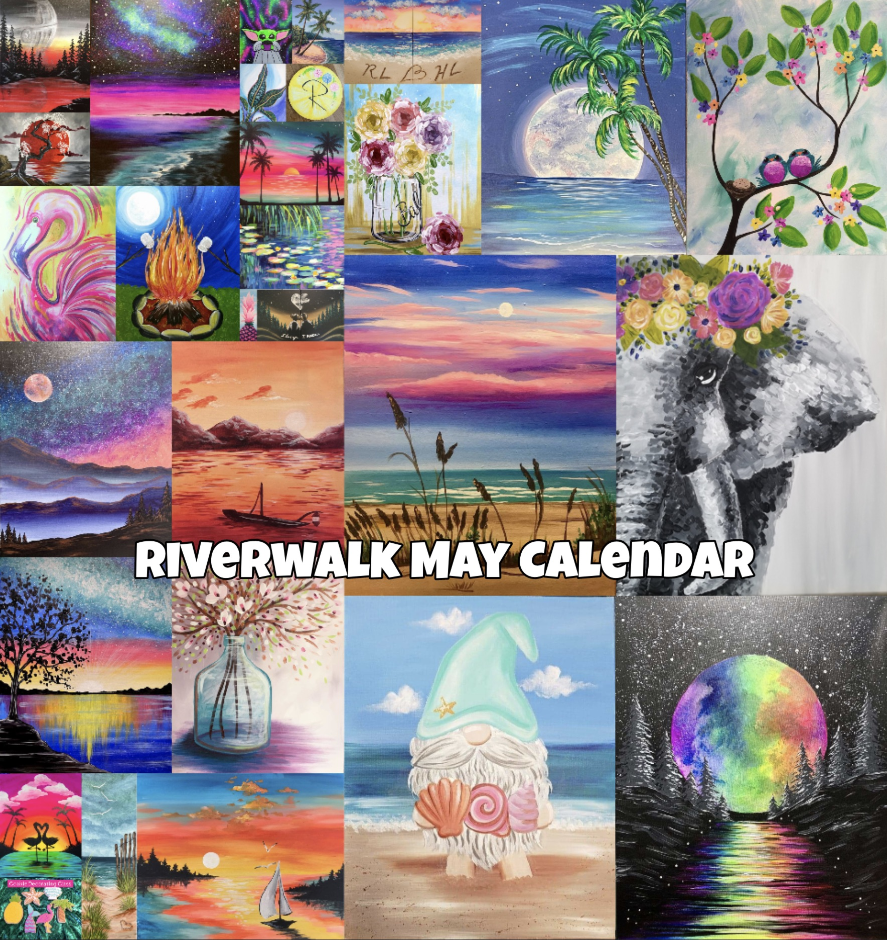 Our May Calendar is Live!