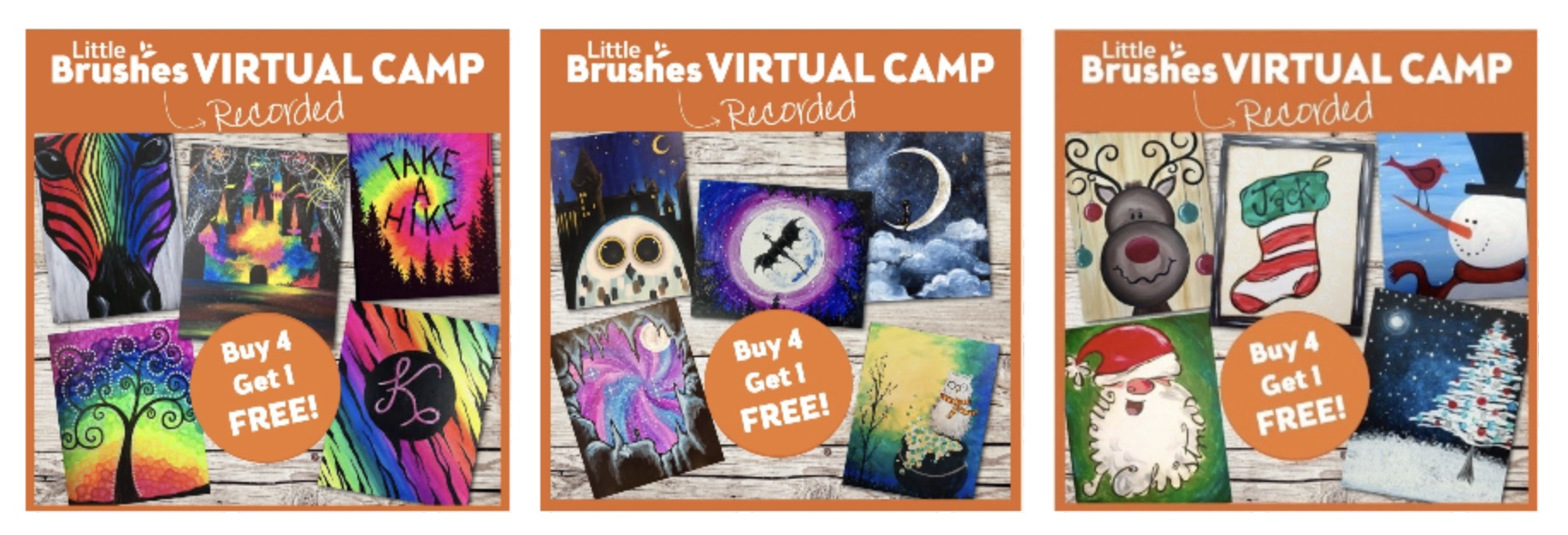 We have Virtual Kids Camp Kits!