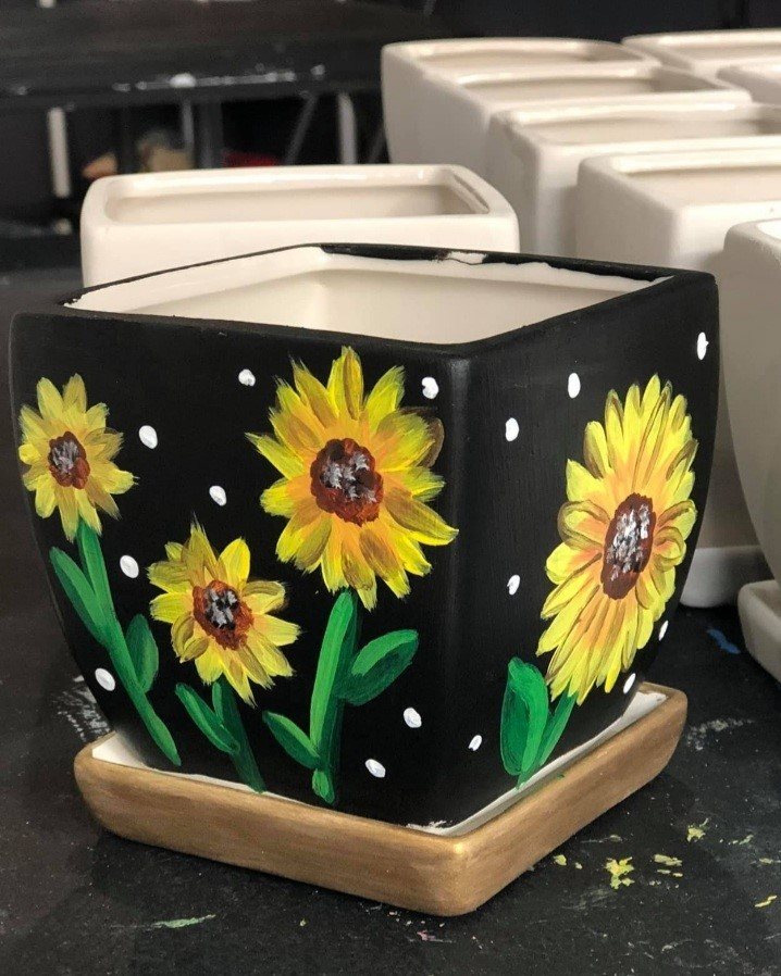Customize Your Own Flower Pot